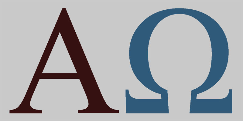 Alpha A And Omega W Represent The First And Last Letters Of The Greek Alphabet They Are A Christian Symb Alpha And Omega Symbols Symbols Christian Symbols