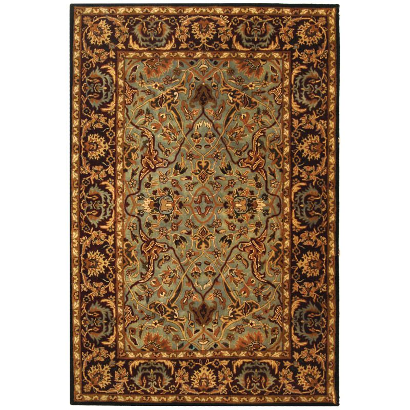 Safavieh Hg794 6 Heritage 6 X 9 Rectangle Wool Hand Tufted Traditional Area Ru Light Blue Red Rugs Area Rugs Light Blue Rug Area Rugs Rugs