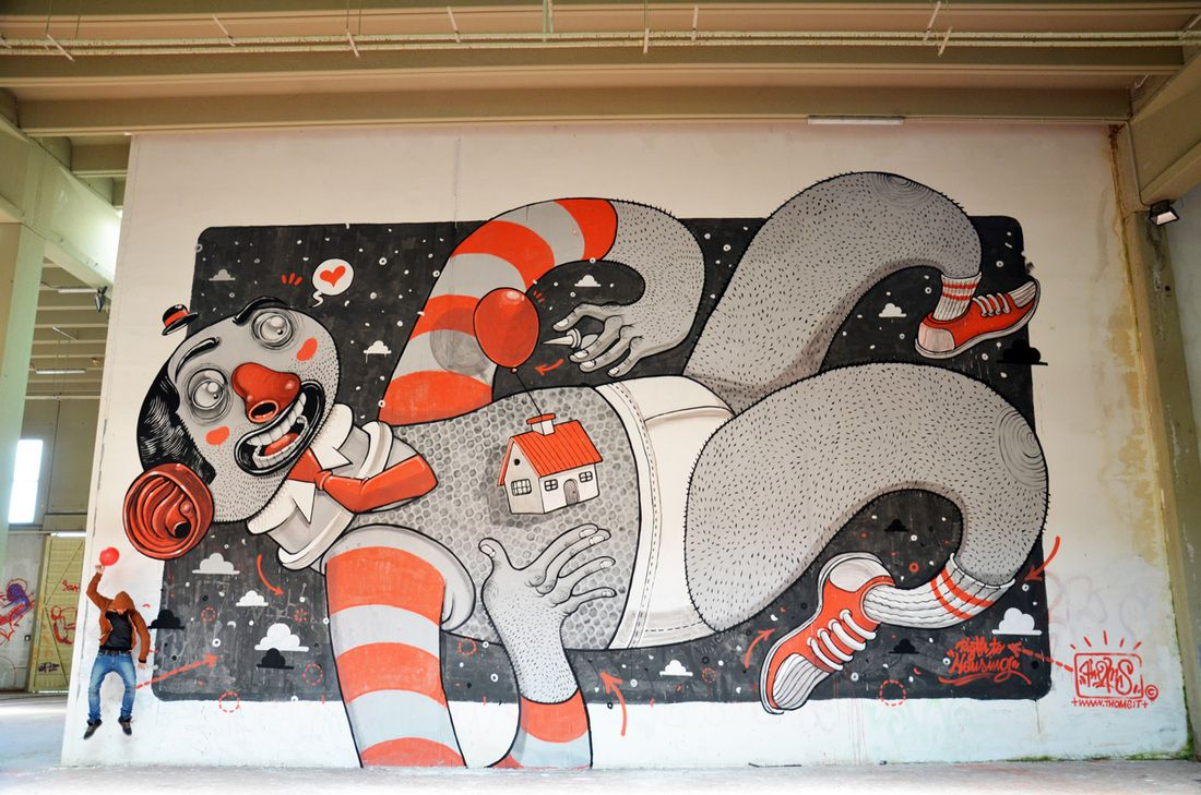 STREET ART : MISTER THOMS | WHATS UP DOC