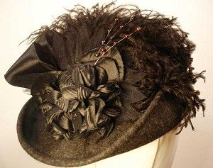 Ladies' Victorian Hat - Kate English Riding Hatriverjunction.com