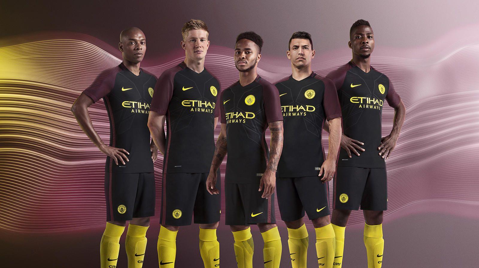 Manchester City Away Kit 2016 17 Manchester City Manchester City Football Club Arsenal Premier League