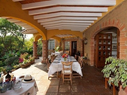 Casa tipo hacienda mexicana buscar con google casa for Decoracion de casas tipo hacienda