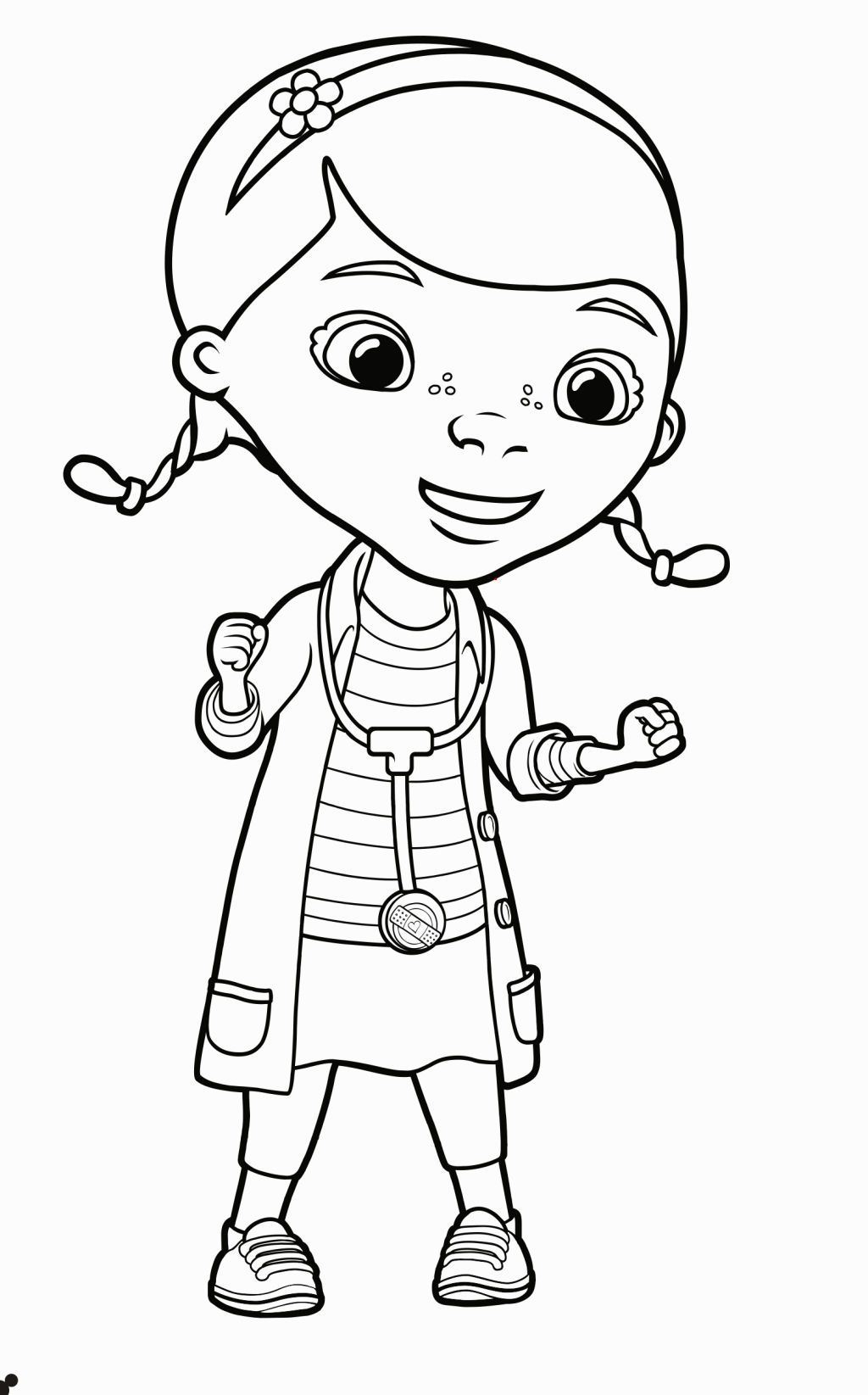 Coloring pages for doc mcstuffins - Doc Mcstuffins Coloring Sheet