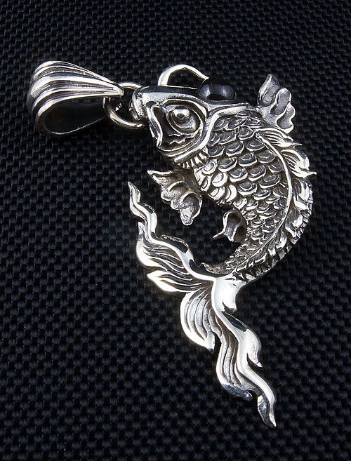 Big koi pendant fish pinterest koi pendants and big big koi pendant aloadofball Image collections