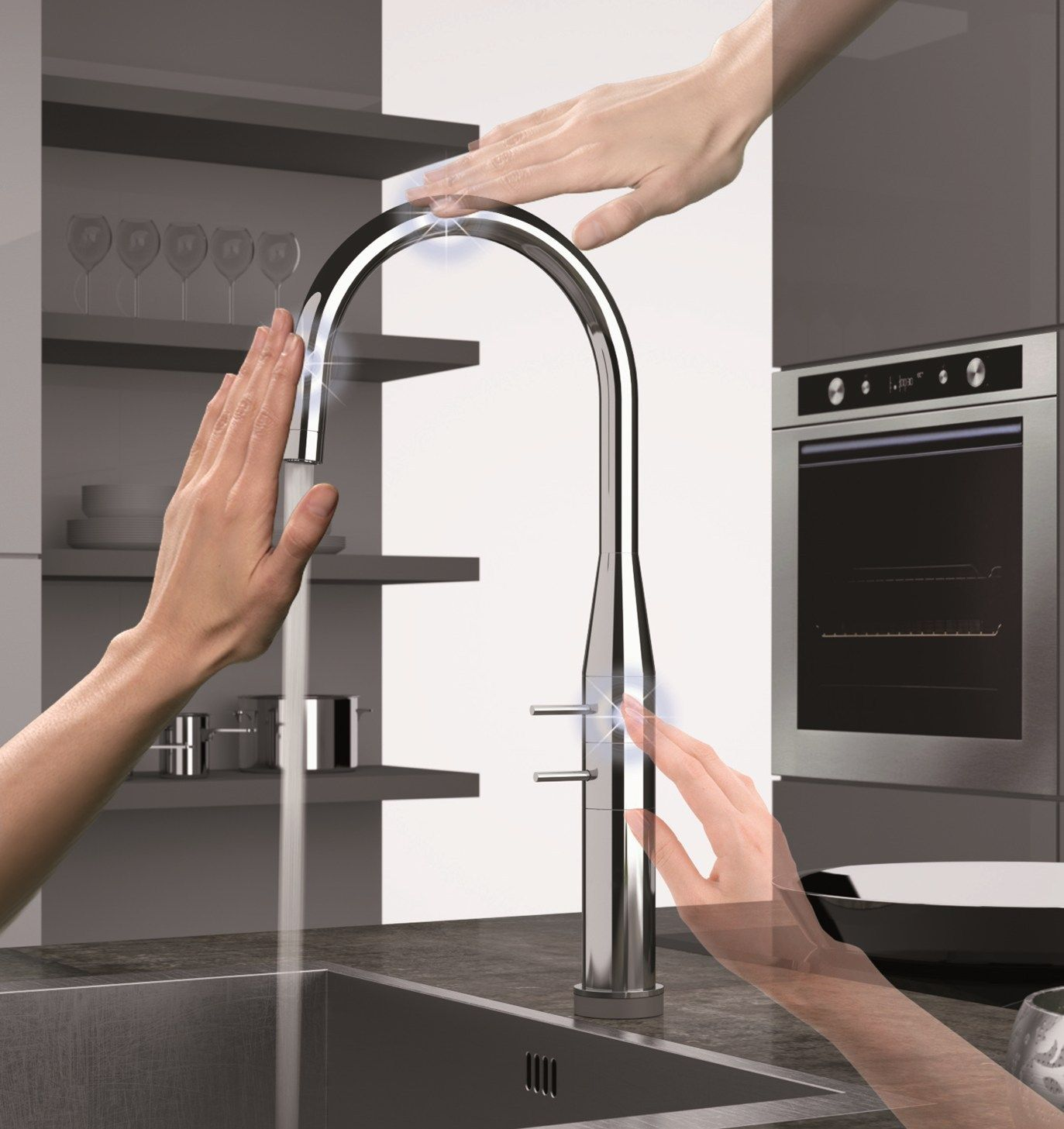 Remer Rubinetterie at Cersaie New faucet solutions with integrated ...