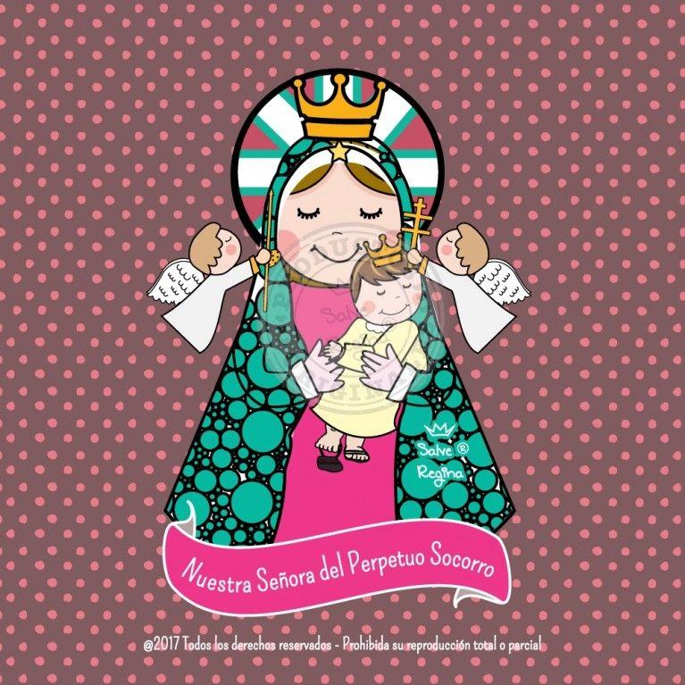 Nuestra Senora Del Perpetuo Socorro Perpetuo Socorro Nossa Senhora Do Perpetuo Socorro Historia Da Pascoa