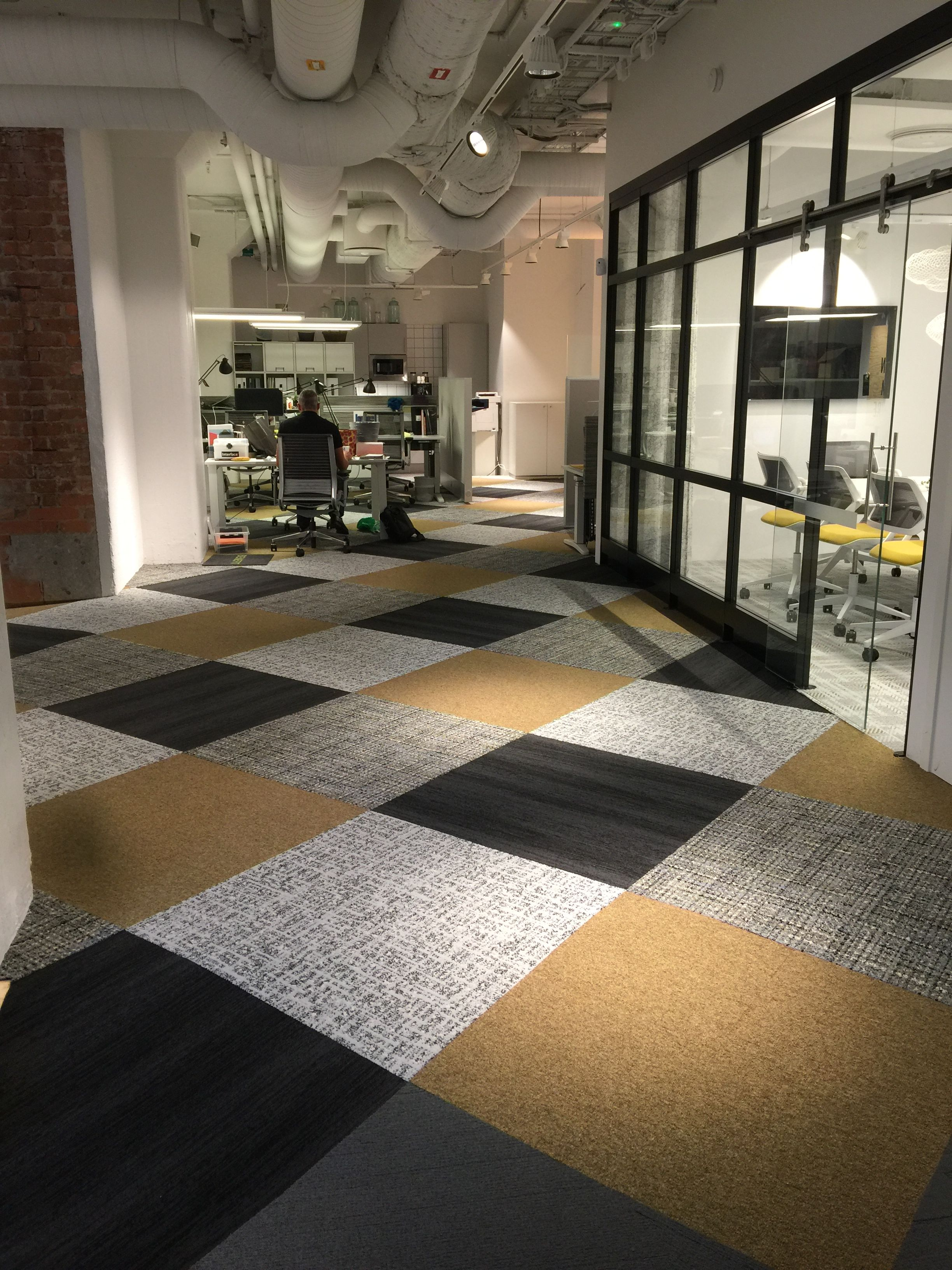 Interface Stockholm Showroom World Woven Collection Touch