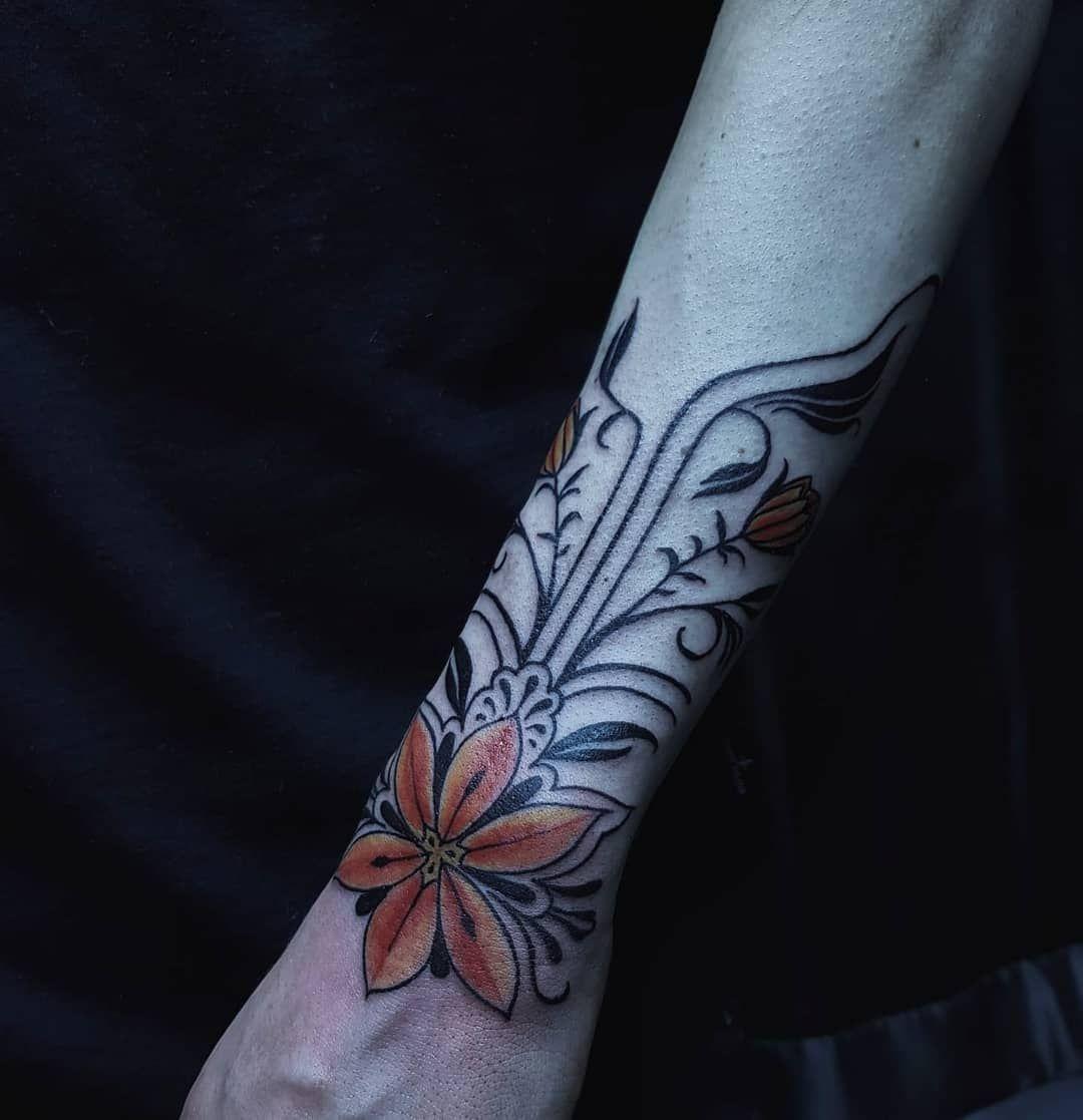 Flower design by Toni  tonicaputotattoo