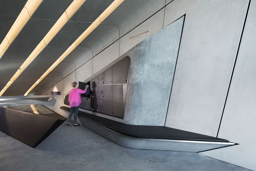 Photo © Werner Huthmacher. Messner Mountain Museum in South Tyrol by Zaha Hadid Architects. https://www.yatzer.com/mmm-corones-zaha-hadid-architects