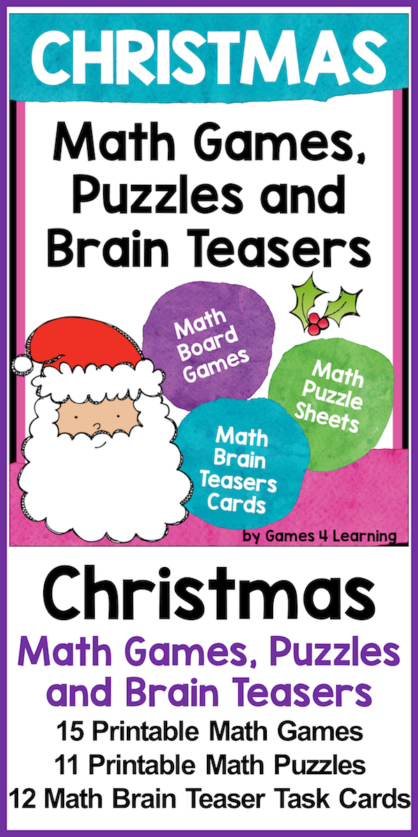Christmas Activities: Christmas Math Games and More for Christmas ...