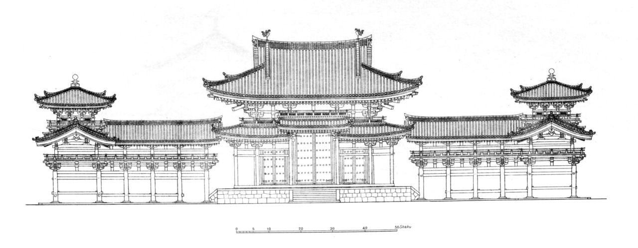 elevation of the byodo