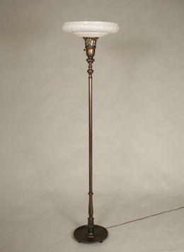 Vintage Torchiere Floor Lamp C 1930 Torchiere Floor Lamp Floor Lamp Lamp