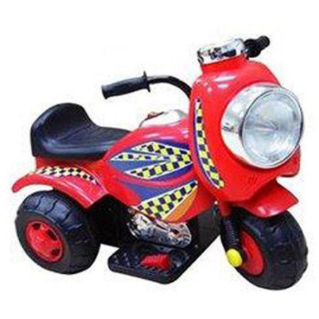 New Star Jungle Racer Sit In 6 Volt Ride On Red