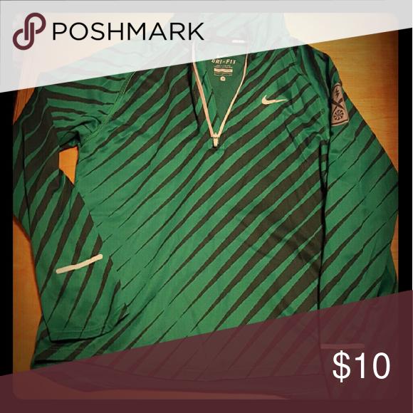 Nike Longsleeve Dri-fit boys shirt Very cute long sleeve Nike shirt. Great condition Nike Shirts & Tops