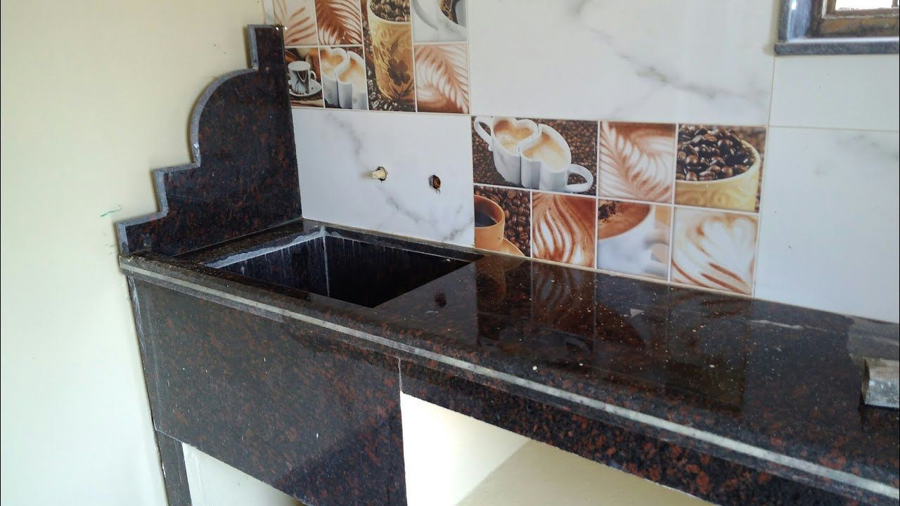 Extra Why Selecting Black Granite Kitchen Platform Design Superb