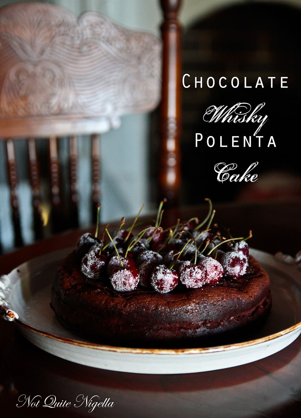 Chocolate Whisky Cake (Gluten Free) & Postcards From