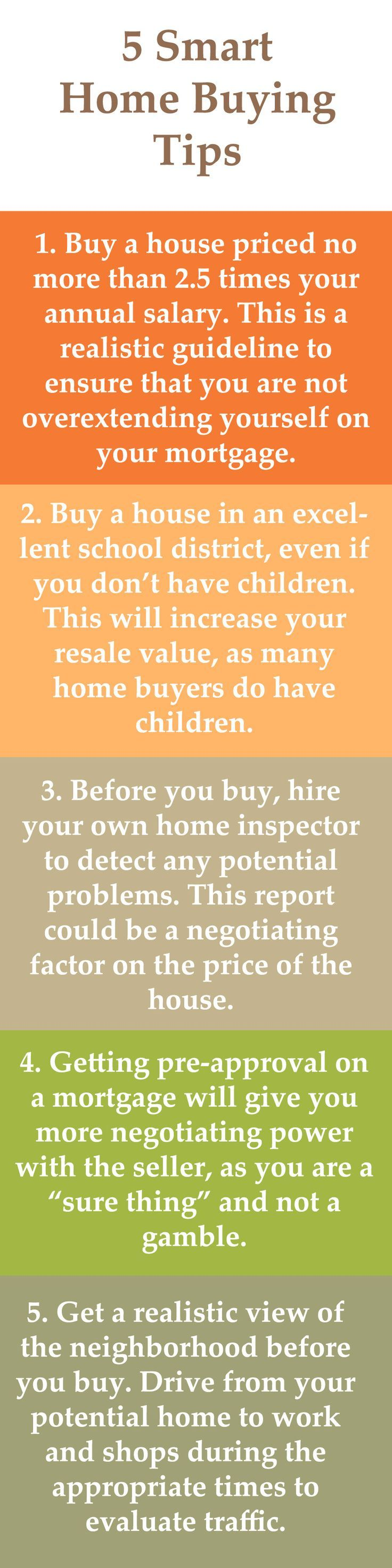 5 Smart Home Buying Tips Home Buying Tips Home Buying Real Estate Tips