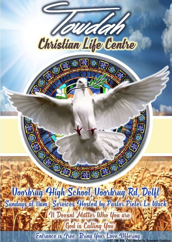 A poster designed for a church. Contact us to have your own poster designed.  #poster #posterdesign #poster_design #posters #church #christian #christian_poster #dove #doves