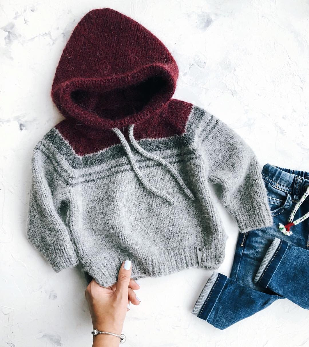 Photo of Baby hooded sweater knit baby sweater knit baby jacket wool baby jamper knit baby coat baby boy sweater baby girl cardigan baby sweater grey