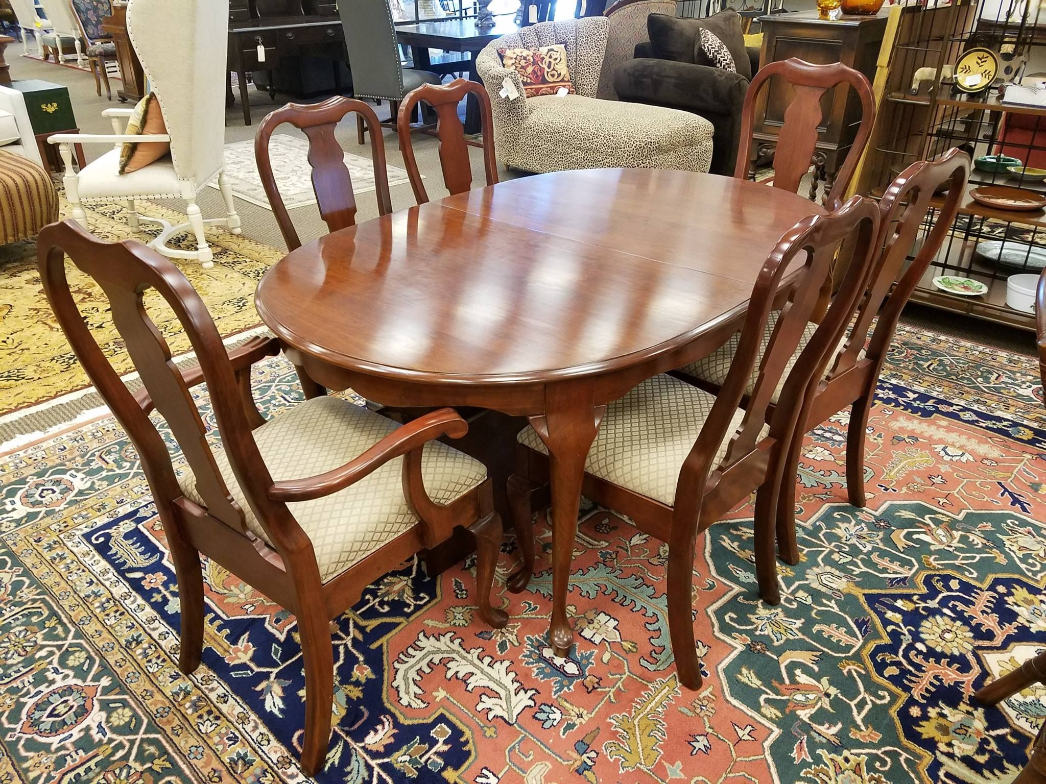 This Pennsylvania House Dining Table Is 499 Which Includes A Set