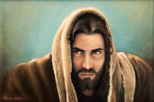Beautiful Painting of Jesus Christ entitled Lovest thou Me ...