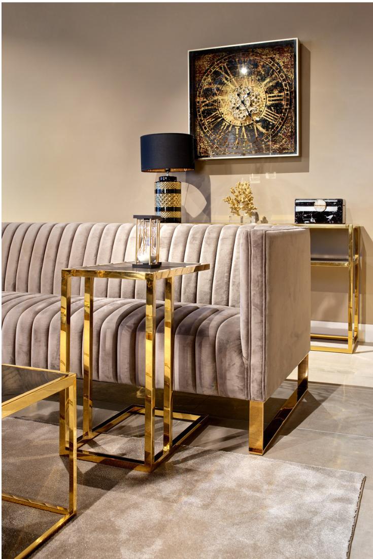 Richarmond Interiors Driehoek Meubels In 2020 Gold Sofa Luxury Furniture Sofa Home Room Design