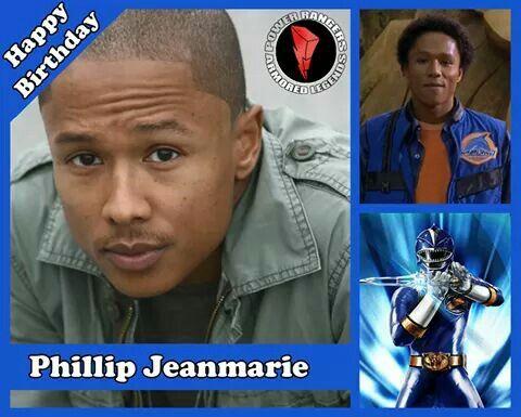 O segundo aniversariante é Phillip Jeanmarie. Ele interpretou Max, Ranger Azul em Power Rangers Força Animal (2002). Phillip completa 38 anos de idade