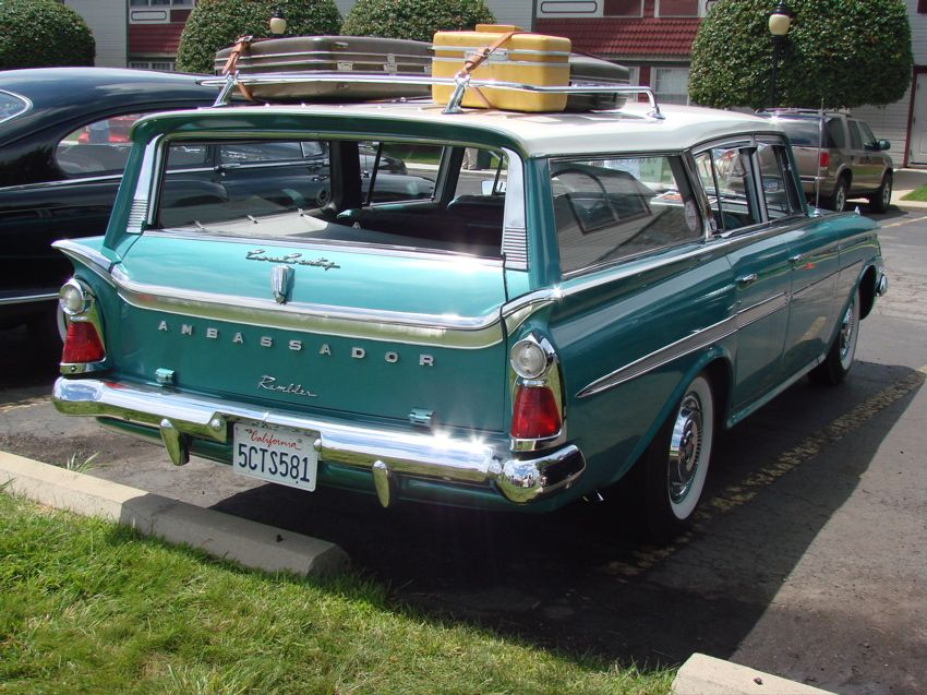 1961 Rambler Ambassador Cross Country Station Wagon Station Wagon Cars Station Wagon Wagon Cars