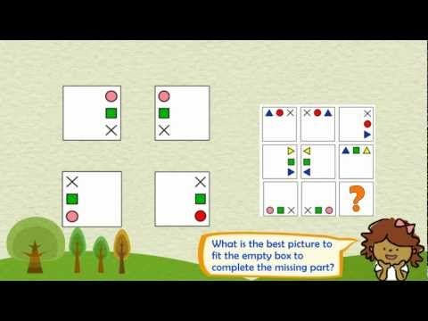 NNAT test preparation for gifted and talented | 3rd grade(HD) - YouTube