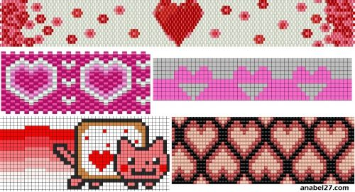 30 valentine patterns
