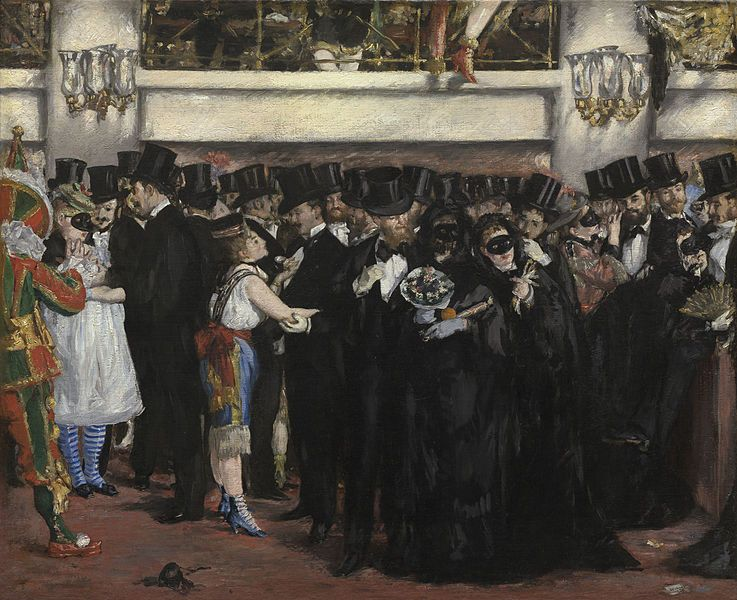 Édouard Manet | Masked Ball at the Opera, 1873
