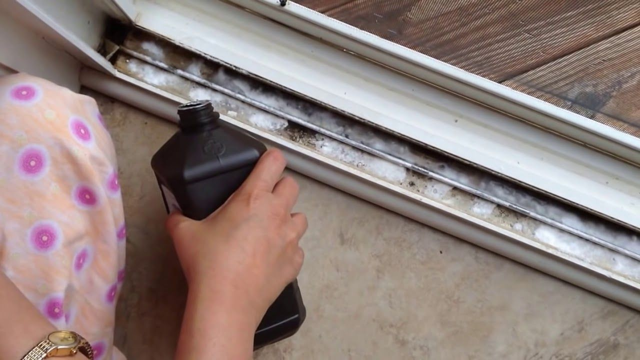 How To Clean Sliding Door Or Window Tracks Youtube Sliding