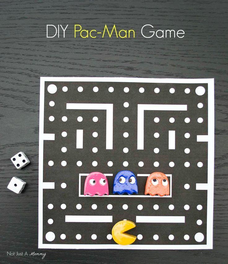 Image result for pacman crafts Board games diy, Diy