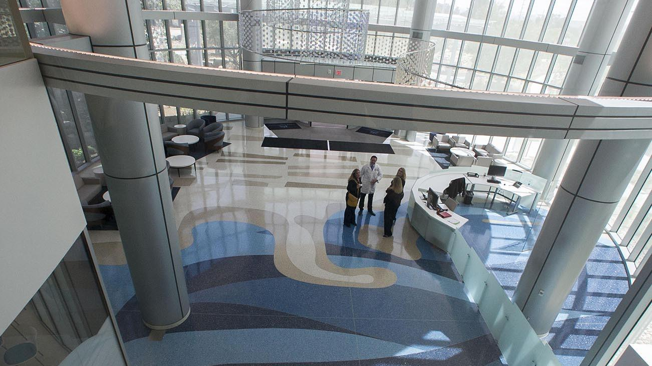 Kaiser Medical Center In San Diego The Terrazzo Floors