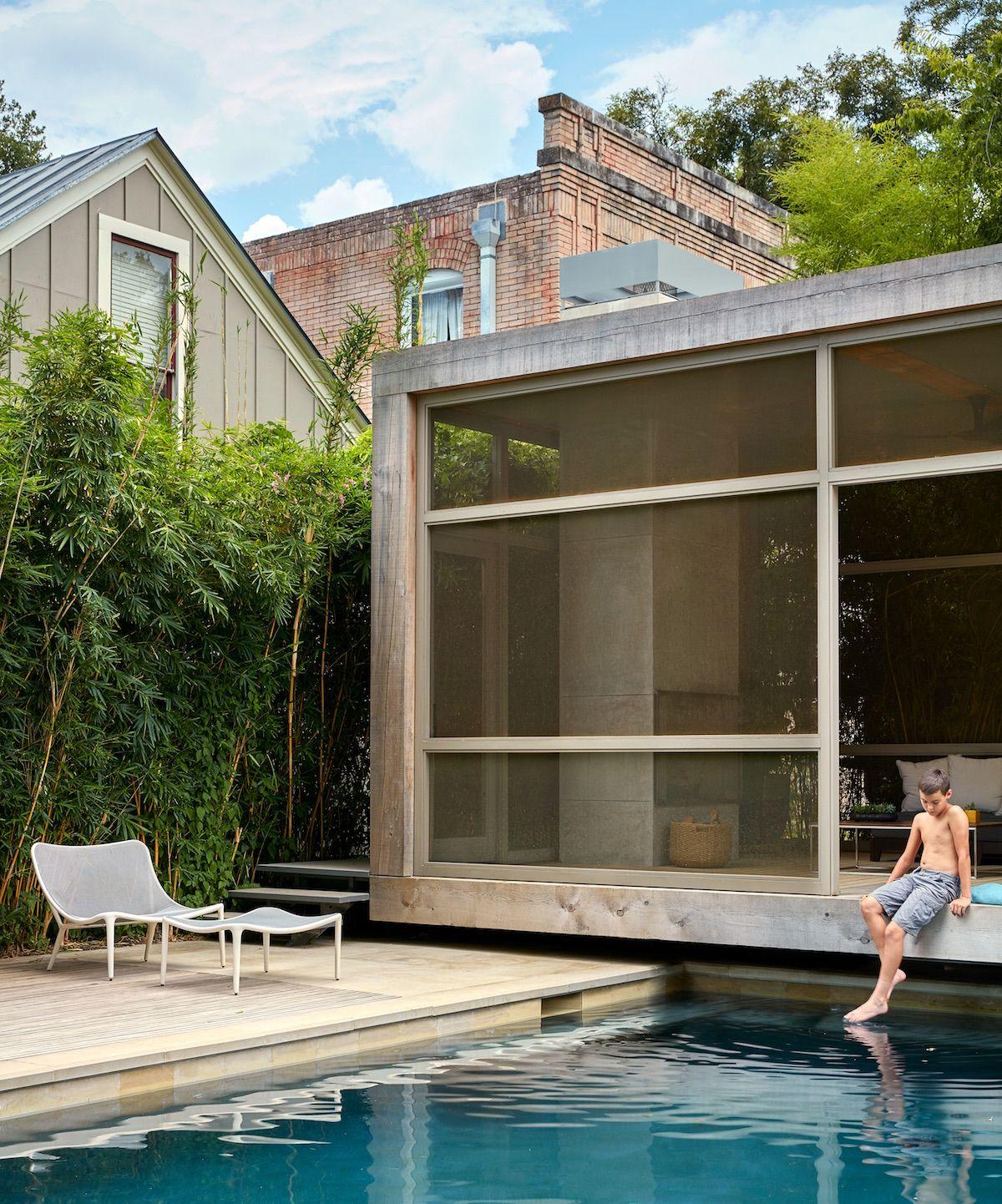 Swimming pool of the week poteet architects in san - Swimming pools in san antonio texas ...