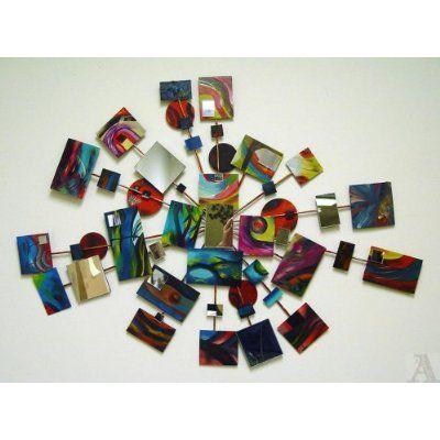 Large Abstract Modern Mirror Wall Art Decor | Home Decor | Pinterest ...