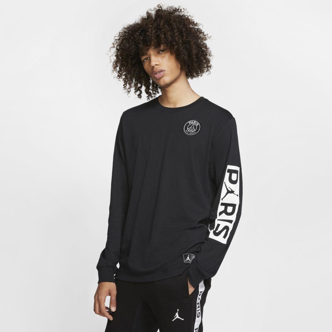 Paris Saint-Germain Long-Sleeve T-Shirt. Nike.com #parisstyle