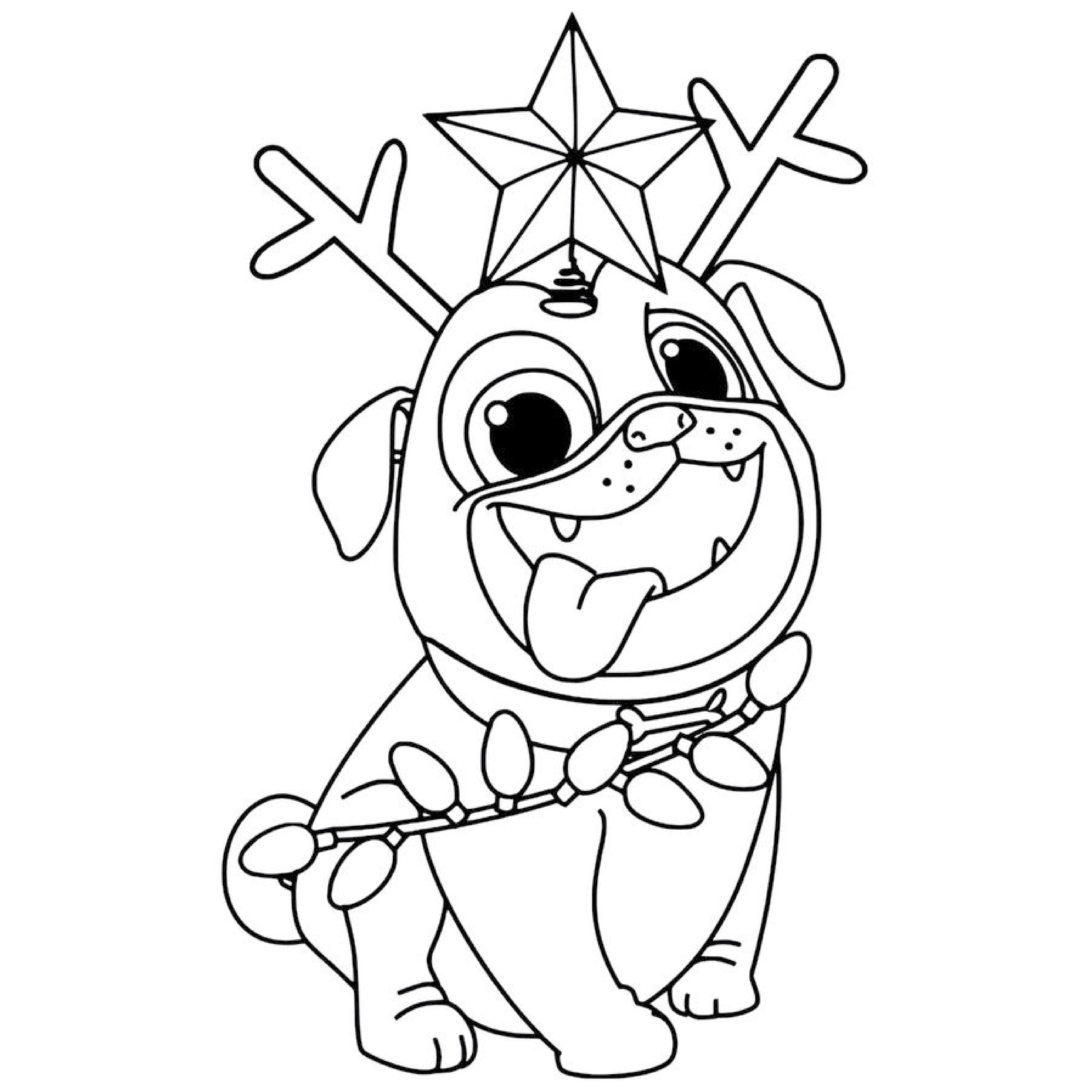 Coloring Book Pages In 2021 Christmas Coloring Pages Puppy Coloring Pages Printable Christmas Coloring Pages [ 4167 x 4167 Pixel ]