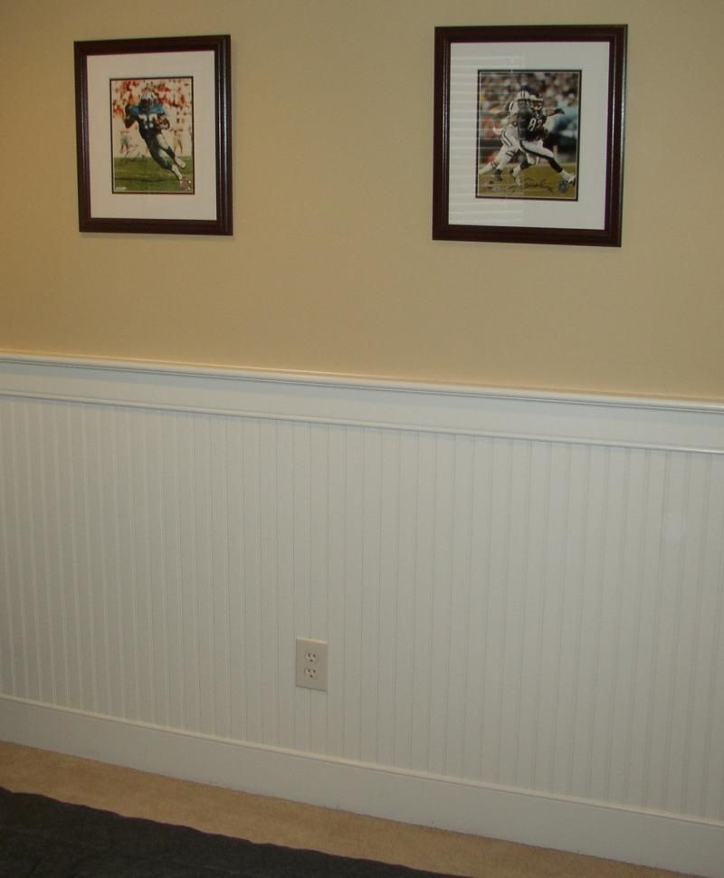Beadboard Dining Room: Wainscotting Like This For My Kitchen Remodel. (I Even