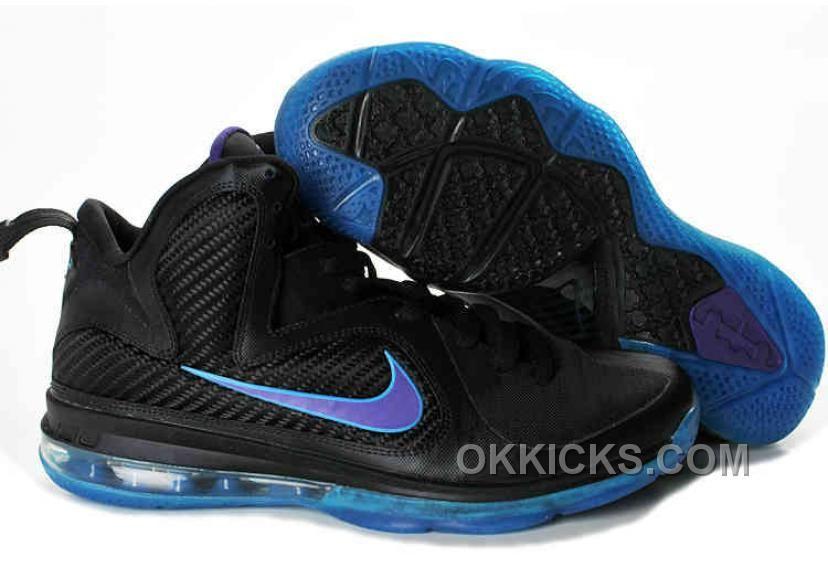 Cheap Lebron James 9 Black Blue 469764 003