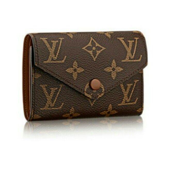 811144804903 Louis Vuitton Folding Wallets 3 fold mini wallet Victorine Brown 2 ...