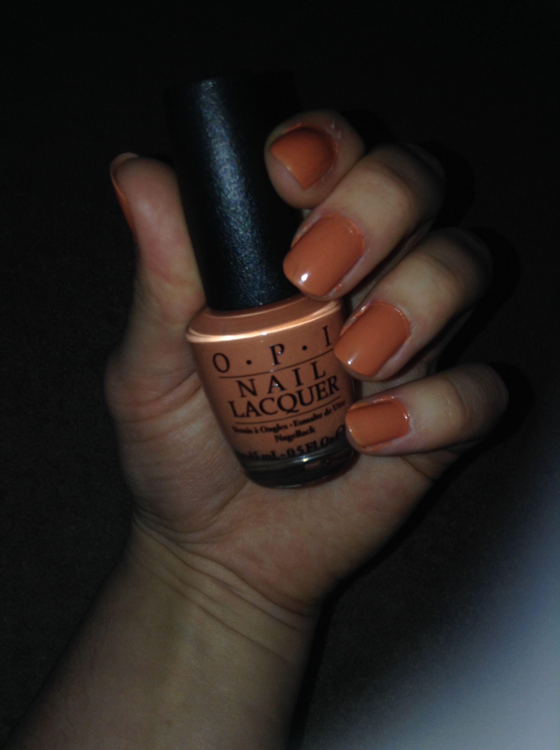 Opi Freedom Of Peach Nails Inspiration Acrylic Nail Designs Makeup Nails