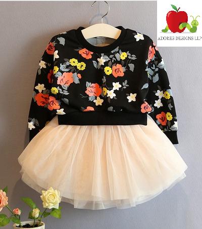 pan 2017 autumn baby boy girl clothes Long sleeve Babies Kids Clothing Set Top