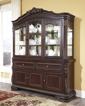 Buy Wendlowe Dining Room Buffet Hutch Benchcraft Furniture Hutches