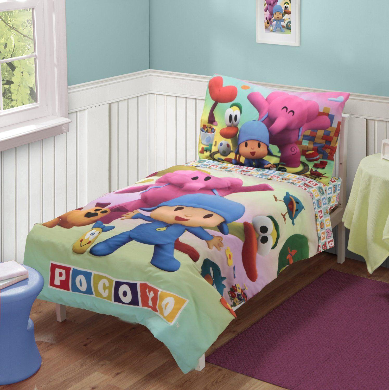 Winnie the pooh toddler bedding - Pocoyo Bedding Set