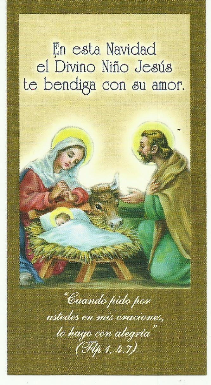 Imagen Del Nacimiento Del Niño Dios En Separador De Páginas De La Librería Paulinas Serie Universo 8 Jesus One Wish Love You