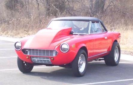 Fiat Spider V8
