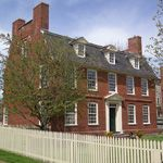 The Derby House, built in 1762, is one of the historic buildings at Salem Maritime.
