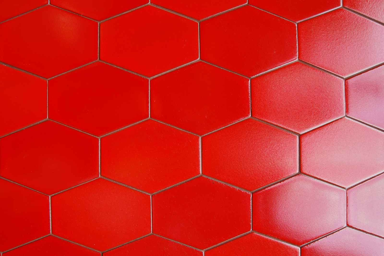 Inspiring Red Ceramic Floor Tile 3 Tiles That Bright And Clean Feel