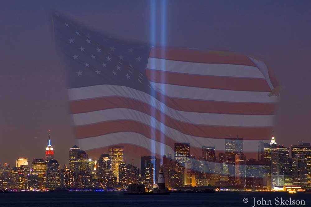 44755f193952b128e49e261dca78632b memorial lights which remain in place of the twin towers 9 11